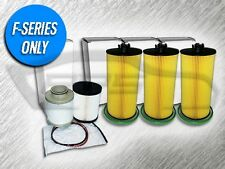 6.4L TURBO DIESEL 3 OIL FILTERS AND 1 FUEL FILTER KIT FOR FORD - AMAZING VALUE