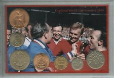England (Three Lions) Vintage World Cup Final Winners Retro Coin Gift Set 1966