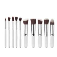 10-20Pcs Pro Kabuki Lady Makeup Brushes Cosmetic Blusher Eye Face Foundation New