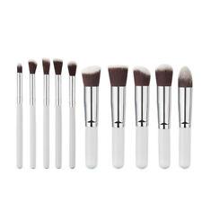 10pc Professional  Makeup Brush Set Cosmetic Powder Foundation Makeup Brushes