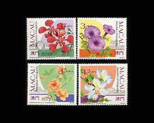 Macao, Sc #652-55, MNH,1991, Plants, Flowers, flora, A350