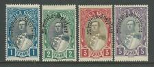 Albania 1928 ovpt stamp Set of 4 high values
