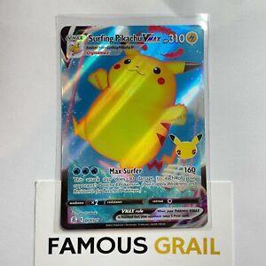 Surfing Pikachu VMAX - 009/025 - Rare Holo Card - Pokemon Celebrations MINT