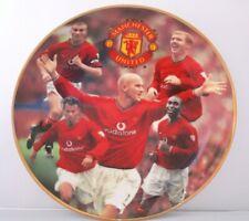 NEW Danbury Mint Porcelain Manchester United Collectors Plate  Premiership Kings