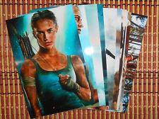 Alicia Vikander Tomb Raider 4x6 Photo Set - Top 10 Photos HQ  # 1