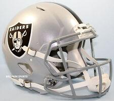 OAKLAND RAIDERS -Riddell Full-Size Speed Authentic Helmet