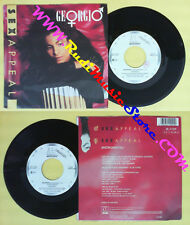 LP 45 7'' GEORGIO Sex appeal 1987 italy PROMO MOTOWN ZB 41209 no cd mc dvd *