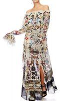 Camilla Franks Raise Your Glass Drop Shoulder Split Dress- XS   LAYBUY AVAILABLE