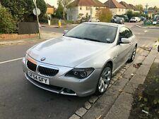 BMW 645 2004 4.5 litre 340bhp V8, just serviced, MOT till late December