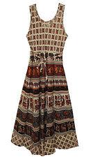 Indian Dress Retro Women Cotton Ehs Hippy Vestir Boho Retro Ethnic Vintage Blusa