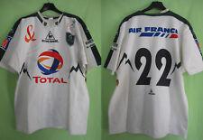 Maillot Rugby section paloise SP Pau dedicacé signé Porté #22 Vintage Shirt - XL