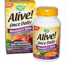 Nature's Way, Alive! Once Daily, Women's 50+, Multi-Vitamin & Whole Food Energiz