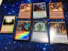 Magic the gathering Card lot Rares Mythics Foils 7 Card lot MTG