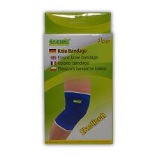 Care4You Knie Bandage Schoner elastisch Universal Blau 1 Stück