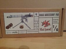Action Figure 1/6 Red Horse Vickers Mitrailleuse
