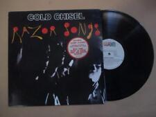 Cold Chisel, Razor Songs, rare Australian pressing