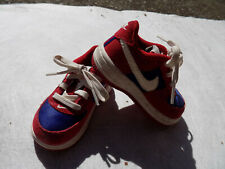 Toddler Boys Girls Force 1 Sneakers 596730 626 size 5 Red Blue White lowtop CUTE