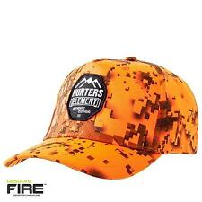 Hunters Element Hunting Heat Beater Fire Camo Blaze Orange Cap 2017