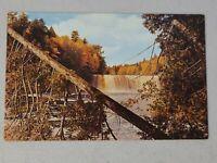 Vintage Postcard - Waterfall Scene - Tahquamenon Falls Unposted #802