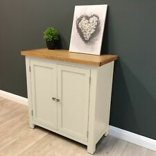 Cotswold Cream Painted Small Linen Cupboard /Storage / Hallway / Solid Wood New