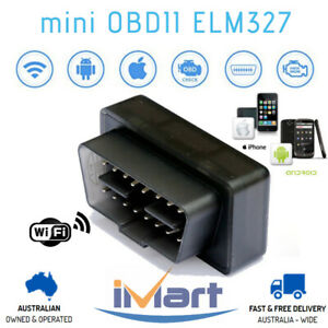 mini ELM327 OBD2 WiFi Car Code Diagnostic Scanner Tool iPhone Android Fits BMW