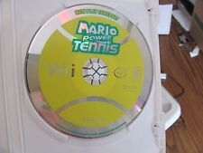 Mario Power Tennis Wii TESTED  DISC ONLY