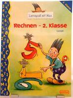 Rechnen 2.Klasse + Lernspaß mit Max + Mathematik Nachhilfe Orig. Pestalozzi /62