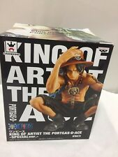 One Piece The Portgas D Ace Figure King of Artists Series Special Version 2016