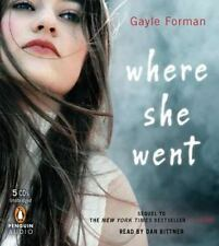 Where She Went  - Audiobook