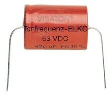 Visaton TONFREQUENZ-ELKO RAUH 100 µF/63VDC