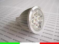10x 5x1w LAMPADINE LED 30° MR16 BIANCO FREDDO 5w 12V FARETTO DICROICA SPOT