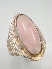Quartz Silver Vintage Fine Rings (1970s)