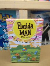 Brand-New Florida Man Card Game by GameLand 2018 Rare 4-8 Players 18+