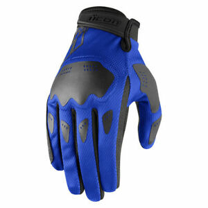 2021 ICON HOOLIGAN MOTORCYCLE STREET LIGHTWEIGHT GLOVES - PICK SIZE / COLOR