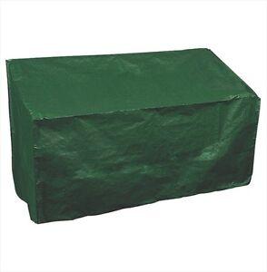 Garden Bench Cover 2 Seater Laminated Woven Polyethylene Cover, UV Stabilised