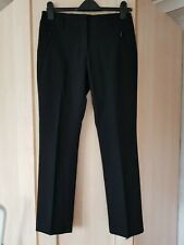 GIRLS BLACK SCHOOL TROUSERS SLIM LEG MARKS & SPENCER age 13-14 years W26.5""