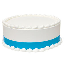 AQUA BLUE Icing Shimmer Ribbons Edible Image Decoration by Lucks - FREE Shipping
