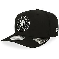 Chelsea New Era Diamond Monochrome 9FIFTY Stretch Snapback Hat - Black