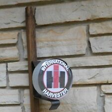 International Harvester Ih Tractor logo emblem miniature wall post Sign Usa made