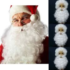 GW: Santa Beard and Wig Set Adult Santa Claus Costume Christmas Fancy Xmas Gift