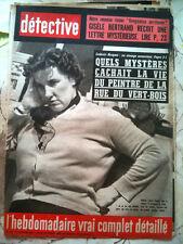 DETECTIVE 17/01/64  Ludovic Hecquet, etrange assassinat