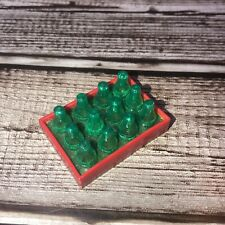 Vintage Buddy L Coca Cola Truck Bottle Tray from 1980's Green Case Model