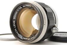 【EXC+++++】Canon 50mm F/1.4 Leica Screw Mount L39 LTM MF Lens #A22