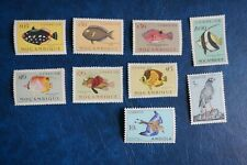 (T3) PORTUGAL PORTUGUESE ANGOLA MOZAMBIQUE 1951 FISH BIRDS SMALL LOT