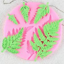 Leaf Sugarcraft Silicone Mould DIY Candy Resin Clay Gumpaste Cake Decor Tools
