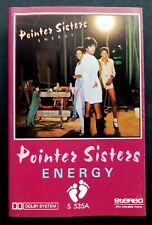 Pointer Sisters Energy Malaysian Cassette Footprint