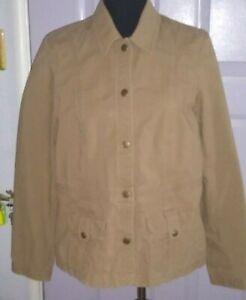 Women's   Eddie Bauer  Casual  Cotton button up  jacket  size 12