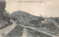 CPA  - MALAIN - Route de Sercey -  Côte-d'Or