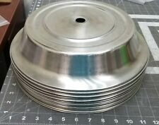 """12 ½"""" NSF Commercial Stainless Steel Catering Food Plate Cover 12/Pack  FORTESSA"""