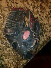 RAWLINGS PRO125SB Right Hand  Softball Glove black free USA shipping